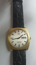 Longines Admiral Day Date In 18k Gold Automatic