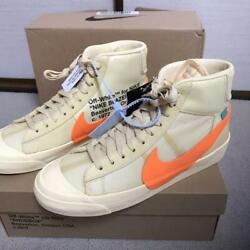 New Off White Blazer Mid Mens Sneakers 28.5cm Halloween Only Color With Box