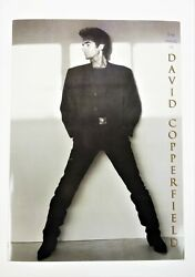 1993 The Magic Of David Copperfield Autographed Program Pictures