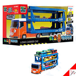 Little Bus Tayo 2021 Long Carrier Car-sound Friction Gear Not Included Cars