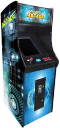Creative Arcades Full Size Stand-up Commercial Grade Arcade Machine | 412 Games