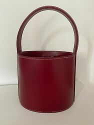 Red bucket bags for women $47.00