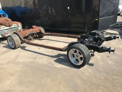 1974 75 76 Chevy Caprice Impala Frame Chassis Donk Used Hot Rod No Wheels V8