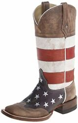 Roper Womenand039s Merica Squared Western Boot - Choose Sz/color