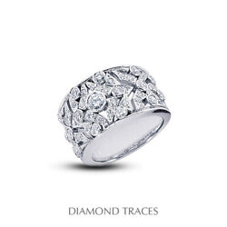 1 1/2ct E Vs1 Round Earth Mined Certified Diamonds 14k Classic Right Hand Ring