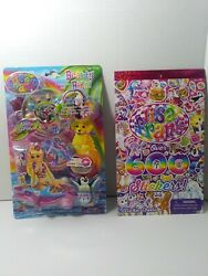 Lisa Frank Beauty Bits Cosmetic Set And 600 Stickers $9.99