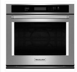 New 2021 Kitchenaid Convection Stainless Electric Wall Built In Oven Kose500ess