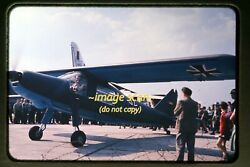 1950and039s Luftwaffe German Air Force Aircraft In West Germany Original Slide A2