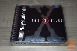 X-files Playstation 1, Ps1 1999 Factory Sealed - Rare
