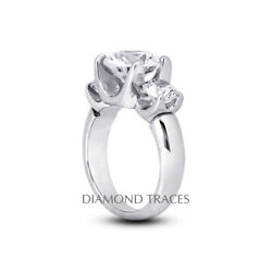 1.81ct H-si2 Round Natural Certified Diamonds 14k Gold Classic Engagement Ring