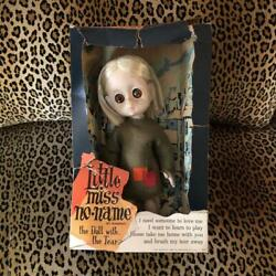 1960and039s Hasbro Little Miss No Name Figure Doll Ith Box Very Rare