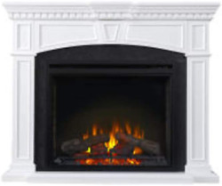 Napoleon Taylor-nefp33-0214w Electric Fireplace With Mantel 33 Inch White