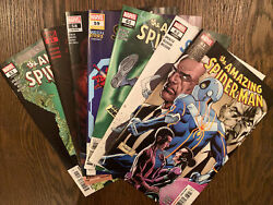 Amazing Spiderman Current Issue Lot 53 55 58 59 61-63 7 Book Lot