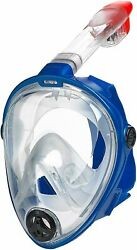 Head Sea Vision Full Face Snorkel Mask 180anddeg Panoramic View Snorkeling Mask S/m