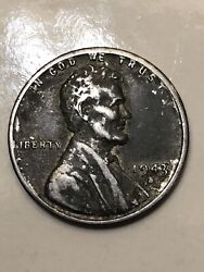 1943 S Lincoln Steel Cent-discovery Coin Boldy Doubled Mint Mark You Grade.