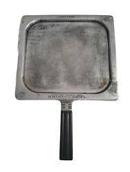 Vintage Mcm Happy Day Griddle-grill Double Sided Wm.b. Watkins Co.
