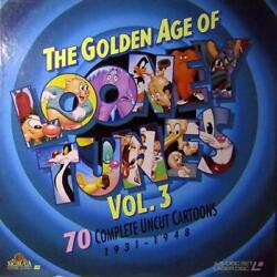 The Golden Age Of Looney Tunes Box Vol.3 Laserdiscs 5lds Mgm Usatracking