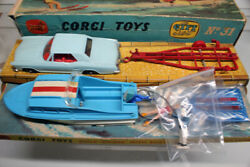 Vintage Buick The Riviera Set Corci Toy Mini Car Model With Box