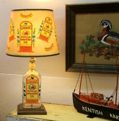 1950and039s Gordons London Dry Gin Lamp