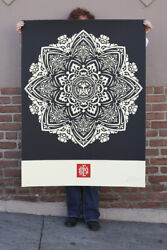 Mandala Ornament 1 Large Format Signed/numbered Obey Shepard Fairey