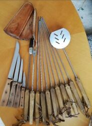 Vintage Ekco Chicago Cutlery Cutlery Knife For Bbq Lot