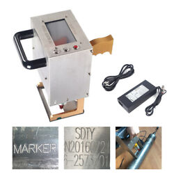 Portable Electric Dot Peen Marking Machine For Vin Code Metal Parts 7020mm Usa