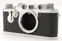 [a Product] Leica Iiif Rd Self Red Dial Collector Product 3f Body 10121