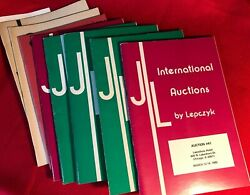 Lepczyk, Joseph Coin Auctions Archive 1977-85