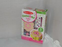Melissa And Doug Flower Box Created By Me Wooden Craft Kit For 4 + Years Old New