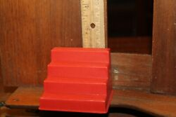 Vintage Evel Knievel Ideal 1973 Scramble Van Accessory Part Only Steps Stairs