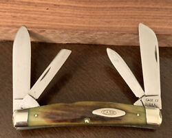 1965-1969 Case Xx Usa 5488 Large Congress Stag Pocket Knife