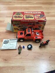 Mask Kenner Firecracker With Box And Instructions
