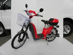 Battery Powered Electric Bicycle Motorized Bike Scooter, Electric Bike