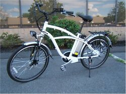 New Electric Bicycle, Motorized Bike Scooter, 36v Lithium Battery