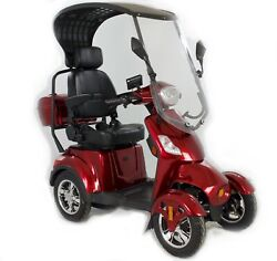 4 Wheels Adult Motorized Electric Mobility Scooters Senior Mobile Scooter
