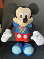 Mickey Mouse Just Play Hot Diggity Dog Dance And Play Plush Doll Toy
