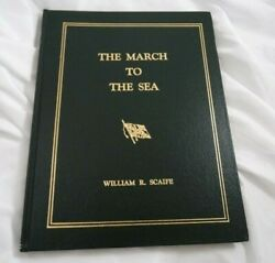 The March To The Sea Signed By William Scaife Civil War 1st Limited Edition 222