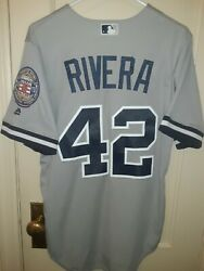 Mariano Rivera New York Yankees 2019 Hall Of Fame Patch Majestic Jersey Men S