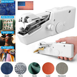 Hand Held Sewing Machine Singer Portable Stitch Sew Quick Handy Cordless Tool Us