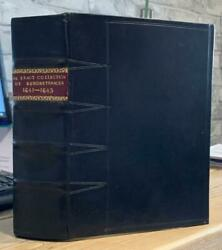 1641-1643 Charles I And039collection Of Parliamentary Remonstrances..and039 Civil War Era.