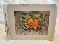 Antique Book Of A Merry Fairy Tale A Picture Book By Mili Weber