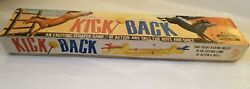 Vintage 1965 Schaper Skill Game - Kick Back Fighting Horses Dexterity Boxed Game