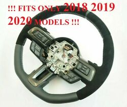 Ford Mustang 2018 2019 2020 2021 Gt500 Gt350 Gt350r Shelby Steering Wheel Carbon