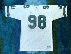Vintage 90s Jacksonville Dolphins Ju White College Football Jersey - Size 44