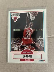 1990 1991 Fleer Michael Jordan #50 Sweet Chicago Bulls Rare Centered $14.99