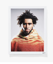 J Cole By Alex Alvarado Print Limited/100 Sold Out On Ntwrk 1st Print. In Hand