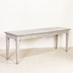 Antique Gustavian Style Painted Console Table, Sweden