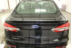 2019-2020 Ford Fusion Lid/gate Trunk Rear View Camera W/ Spoiler Painted Black
