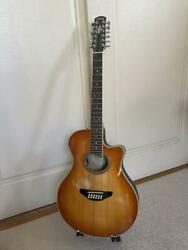 Used Yamaha Apx 9-12 12-string Acoustic Electric Guitar Rare M