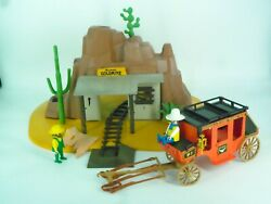 Playmobil Mclaren's Gold Mine 3802 + Stagecoach - Missing Parts
